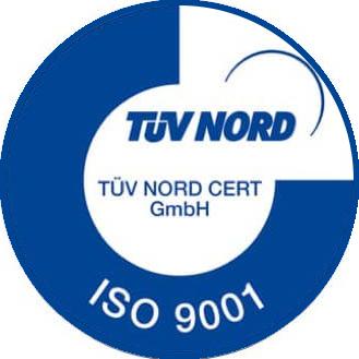 Certificazione TUV iso 9001
